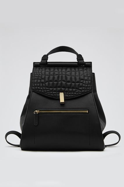 Alto Quilted Leather Backpack