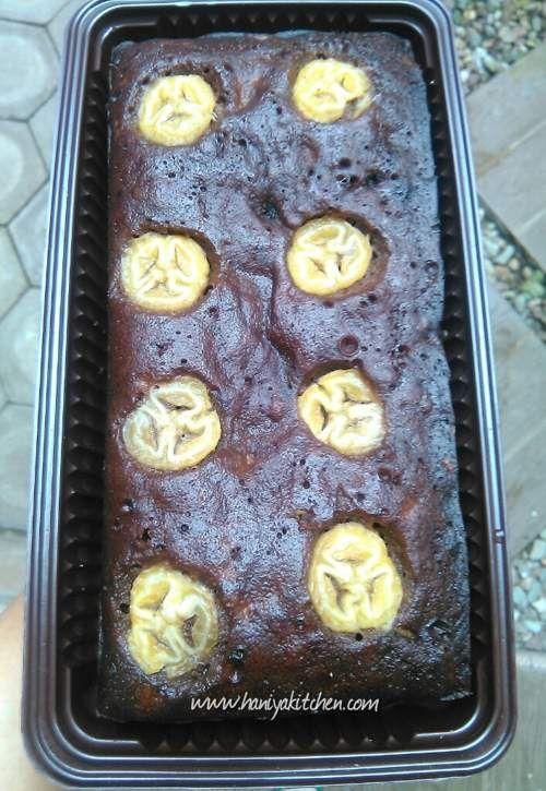 Resep Cake Coklat Pisang Kukus Banana Steam Chocolate Cake Super Praktis Kue Cokelat Makanan Dan Minuman Coklat