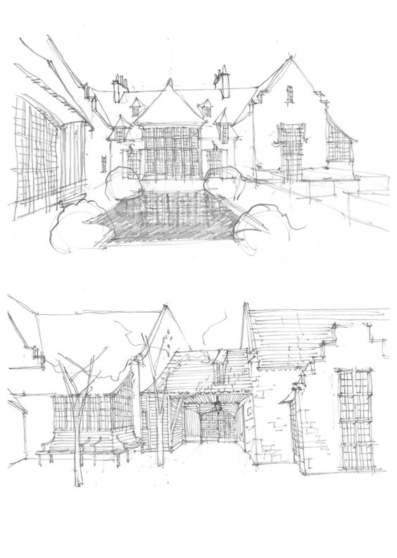 File Stowe house ground plan 1848 further 213602 as well 237283474090421093 also Architectural Drawings Models further Plan. on bobby mcalpine interior design images
