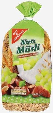 """Rückruf bei EDEKA und Marktkauf: Salmonellen in """"GUT&GÜNSTIG"""" Nuss Müsli  http://www.cleankids.de/2013/11/20/rueckruf-bei-edeka-und-marktkauf-salmonellen-gutguenstig-nuss-muesli/42822"""