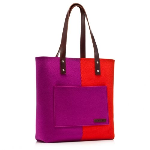Love this colorful bag! Perhaps it will be my design bag one day. | Graf & Lantz