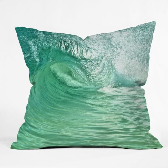 isa Argyropoulos within the Eye Throw Pillow #seaside