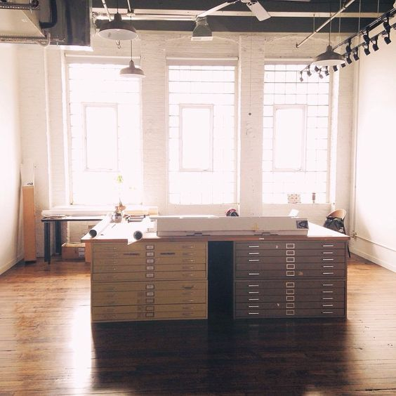 BoothphotographicsSimple But Inspiring Workplaces At The Hubbard Street Lofts Loft Chicago