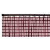Found it at Wayfair - Large Scale Plaid Bathroom Shower Curtain in Red