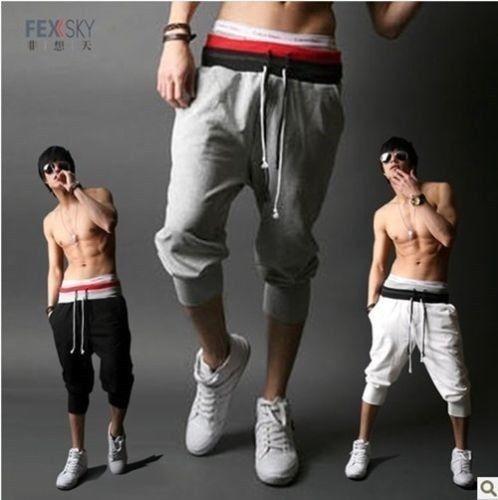 New Korean Fashionable Men's Sports Casual Sweatpants Pants