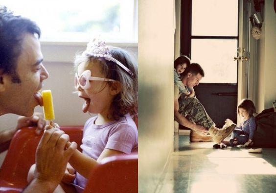 Отец и дочь - это звучит нежно! (20 фото)