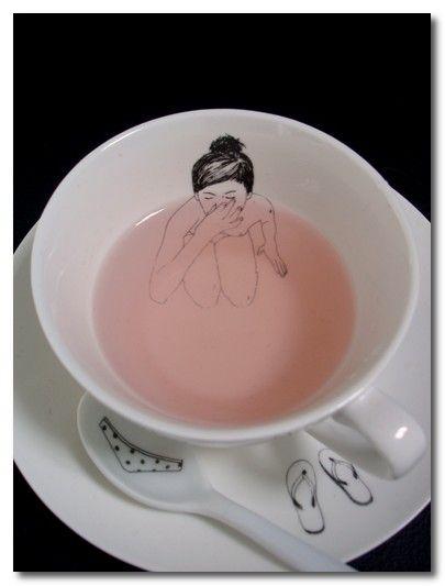 summer teacup.. soo cute!!!
