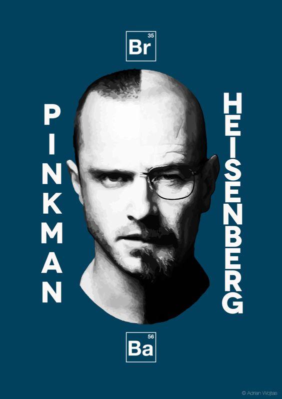 Pinkman/Heisenberg