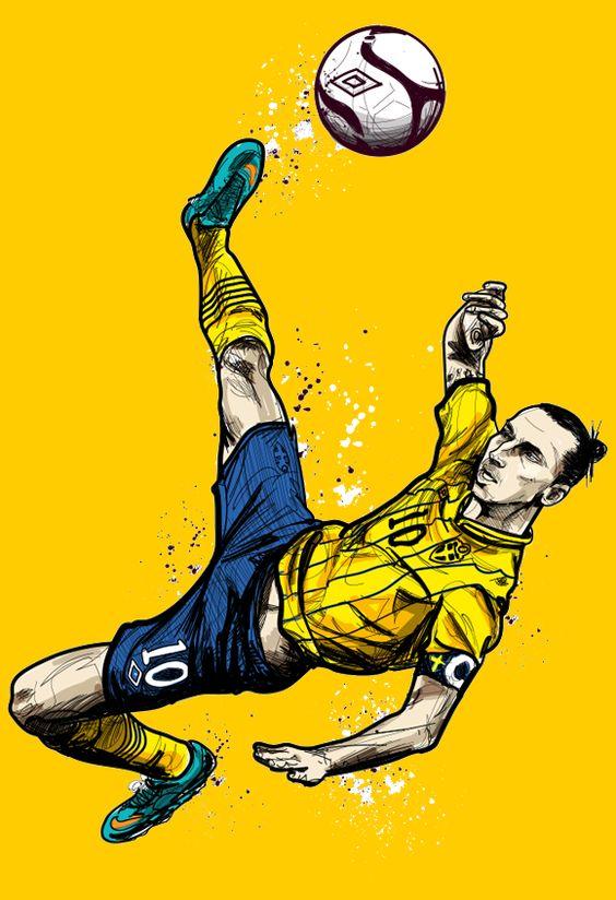 O mundo, segundo Zlatan - ESPN.com.br
