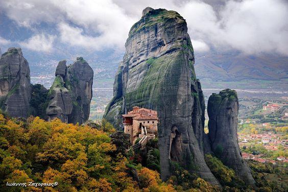 Meteora, Greece by john zagoraios, via 500px