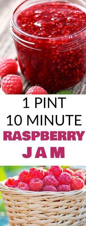 10 Minute Raspberry Jam