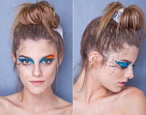 maquiagem e penteados de carnaval - Pesquisa Google