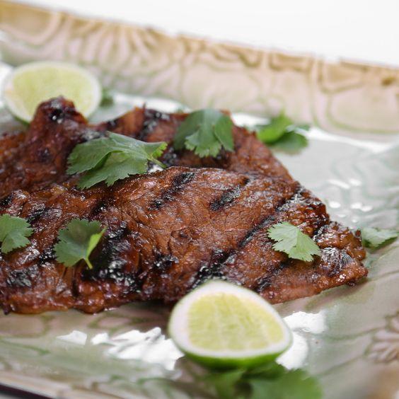 ... Korean Style Strip Steak | Beef/fish/chicken/eggs | Pinterest | Korean