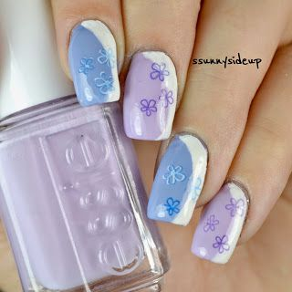 ssunnysideup: [REVIEW] Hawaii water decals with flowers and a little frenchy on the side