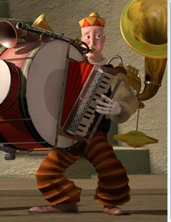 The One Man Band, a Pixar's short.    It's me!