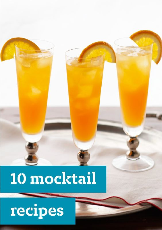 10 mocktails liven up any party with a variety of