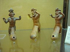 "Erotic Oil-Lamps, from Pompeii (79 AD) - Naples, Archaeological Museum (""Secret Room"") - Lighting in Antiquity by * Karl *"