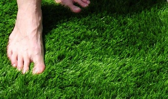 artificial grass pile - longer is softer