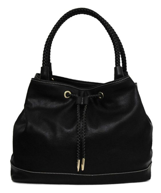 This NP Fashion Black Drawstring Tote by NP Fashion is perfect! #zulilyfinds