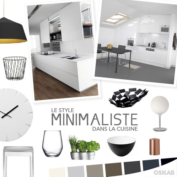 Cuisine and style on pinterest for Style minimaliste