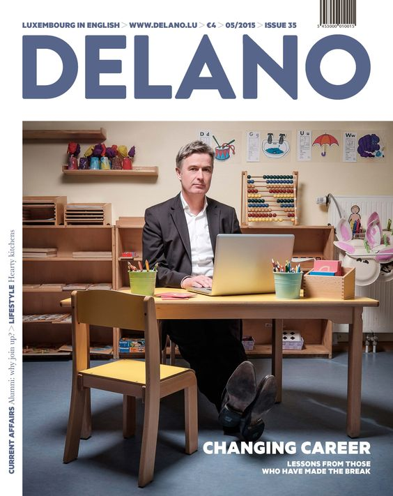 Delano - Changing career - Photography by Julien Becker (May 2015)