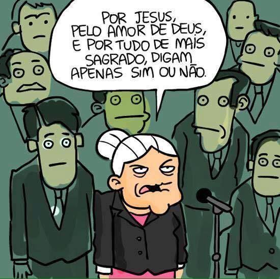 Post  #: Dona Anésia falando pela nação.