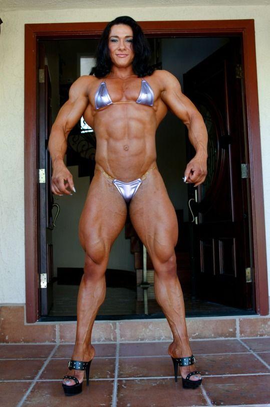 Nude woman bodybuilder angela salvagno naked 8
