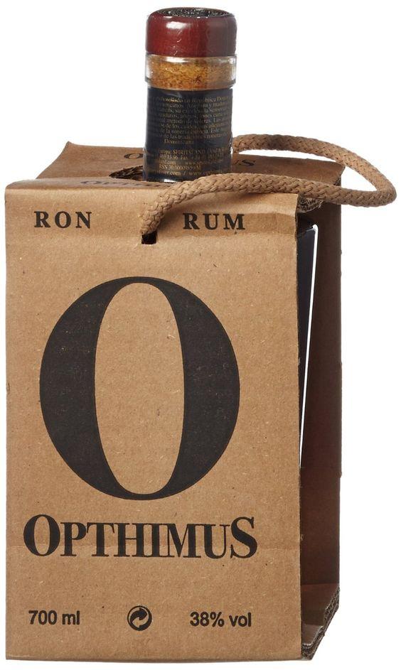 Opthimus #packaging #rum #ron #premium #gourmet