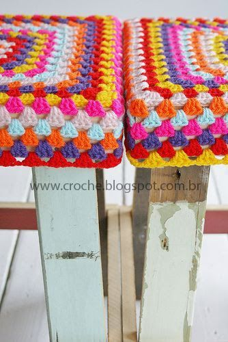 banquinho | croche croche