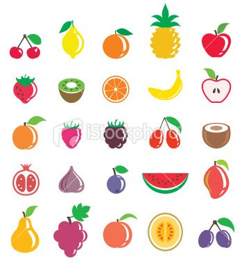 Fruits Royalty Free Stock Vector Art Illustration