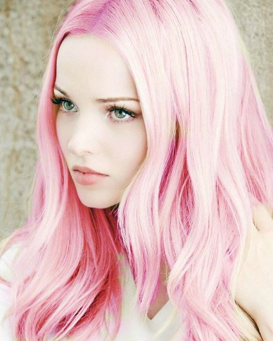 Dove Cameron Pink Hair Created By Kira The Trickster Using Ipiccy Cameron Hair Hair Color Images Pink Hair