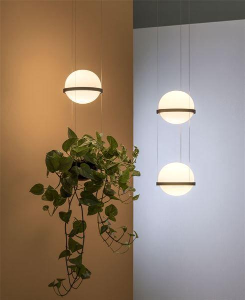 Das Projekt Zielt Darauf Ab Licht Mit Pflanzen Zu Verbinden Dekoration Design Lampen Lampendesign Anhanger Lampen