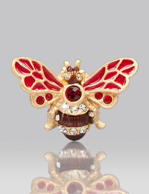 Nigel Bumblebee Tack Pin - Siam
