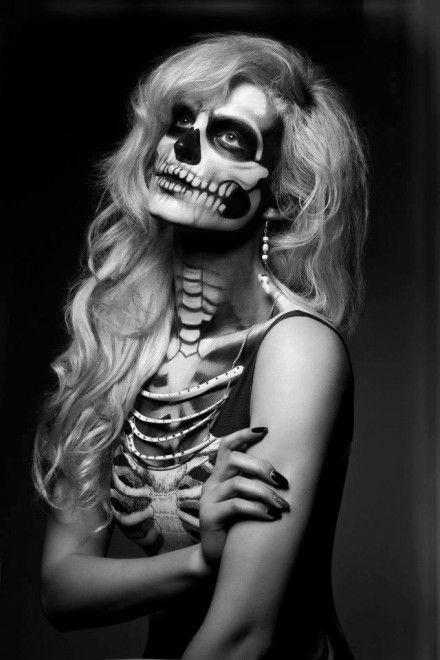 Skull-makeup-designs-1: