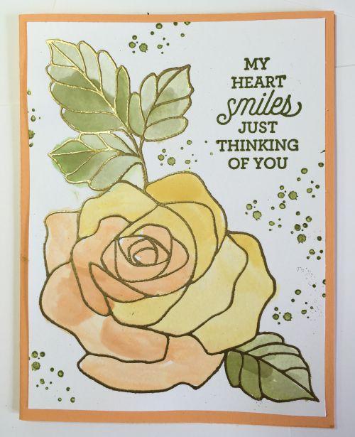 Watercolor Roses.   Visit my blog:  http://djcardsandmore.typepad.com/my-blog/
