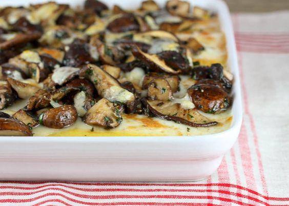 explore herb polenta recipes for fall and more polenta herbs mushrooms ...
