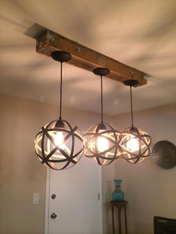 10 Beautiful Rustic Style Lighting Fixture Plans To Accent A New Cottage Lightin Farmhouse Lighting Dining Rustic Kitchen Lighting Dining Room Light Fixtures
