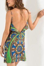 vestido curto cairo oval