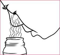 calentar agua para un orzuelo