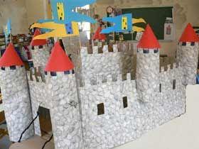 maquette chateau fort ecole primaire. Black Bedroom Furniture Sets. Home Design Ideas