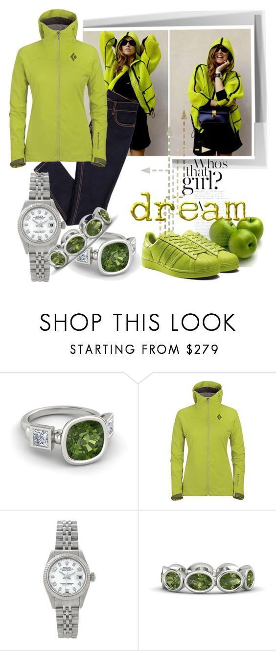 """""""Untitled #586"""" by zdenka ❤ liked on Polyvore featuring Black Diamond, Rolex and Cloud Nine"""
