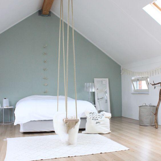 Schlafzimmer, Schaukeln and Wandfarbe Farbtöne on Pinterest