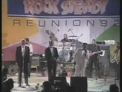 ▶ The Techniques, The Clarendonians, Delroy Wilson, The Melodians [Rocksteady Reunion 1992] - wow wish Id been there. Sadly the Techniques without the legendary Slim Smith but they were still cutting it in 1992. Such a great link with the style of Curtis Mayfield a massive influence on early reggae. Rich