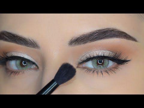 فيديو تعليمي بمكياج ولااسهل وفرشاة واحدة فقط للمبتدئين Easy Tut For Beginners With A Brush Only Youtube In 2021 Eye Makeup Eyeshadow Makeup Makeup Tutorial