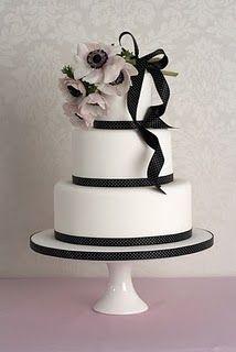 pink anemone cake
