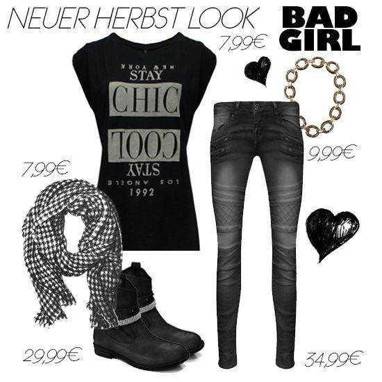 Seid ihr gespannt auf die neuen Herbst Trends? Wir sind total in love mit dem Rebell, Bad Girl Look! Zeigt eure edgy Seite mit einer großen Portion sexy Attitude! @mycolloseum.com
