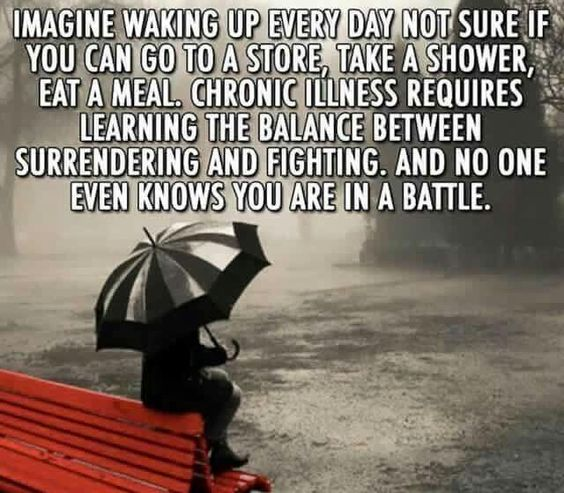 Yes!!!! So very true!!!---Chronic illness/Fibromyalgia: