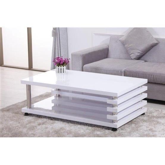 Table Basse Design Nelawa Blanc Table Basse Design Table Basse Decoration Maison