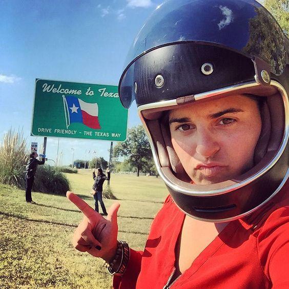 11 of 50  #texas #babesrideoutorbust #travel #adventure #explore #crosscountry #roadtrip #gypsybiker #bikerbabe #womenwhoride #america #freedom #statesign