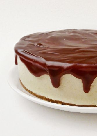 Tarta de mousse de crema pastelera y toffe, ¡Que más se puede pedir, una combinación perfecta!.